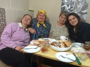 "Yulia brings her 2 grandmothers together for the first time in more than 10 years. One story in the ""Newsbites"" series."
